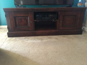 Vintage TV stand can take up to 70inc tv for Sale in Silver Spring, MD