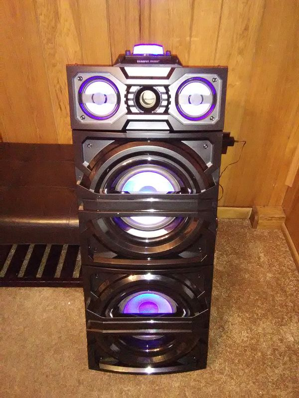 Sharper Image Portable Led Party Speaker For Sale In Manheim Pa