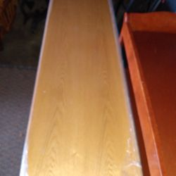 """Solid Wood in very good condition Chest Of Drawers 70""""L  18""""D 31""""H Thumbnail"""