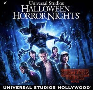 Horror night tickets needed for Sale in Los Angeles, CA