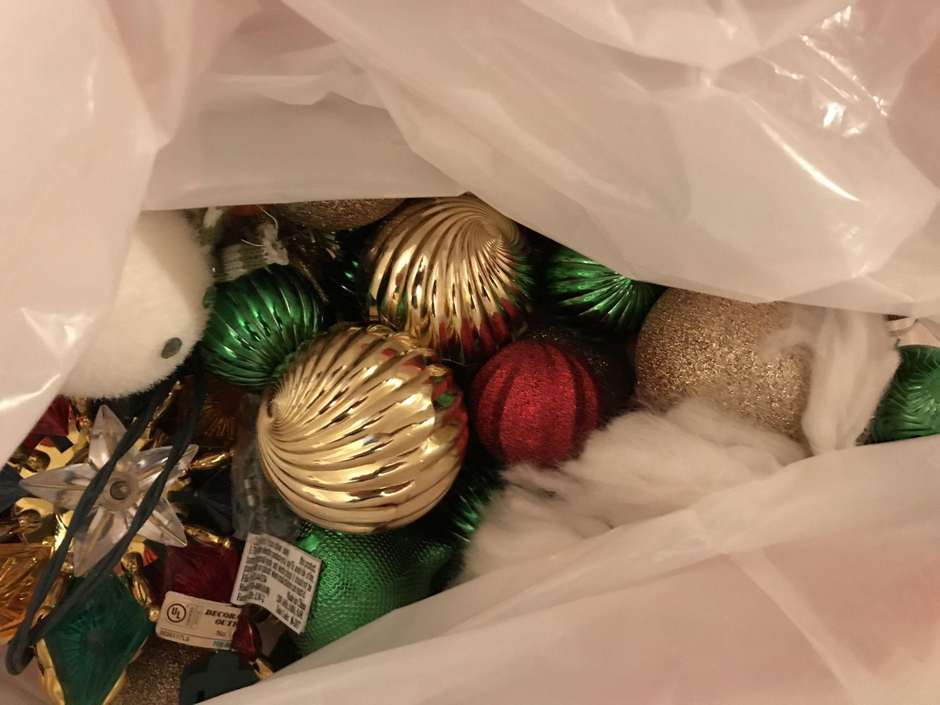 Christmas Tree W/ Ornaments