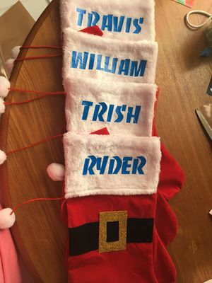 Personalized Christmas stockings for Sale in Kearneysville, WV