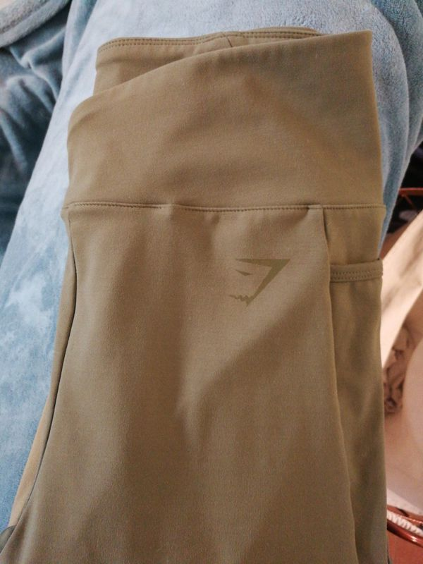 47eae46088798 Medium Gymshark Nikki B Khaki Leggings for Sale in Cypress, CA - OfferUp