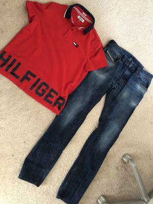 Tommy Hilfiger / Diesel Outfit Bundle Size Medium/32 for Sale in Washington, MD