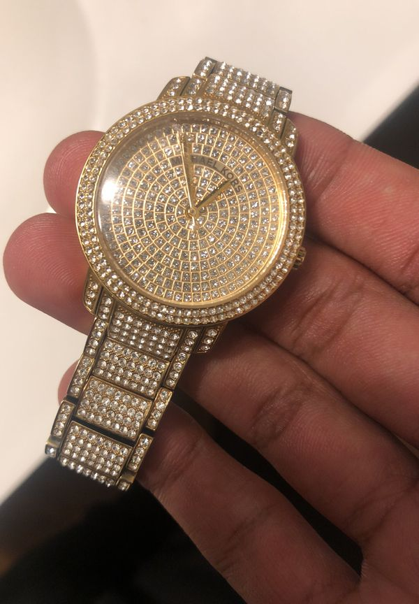 4e53508dce60 MK iced out watch for Sale in Columbus