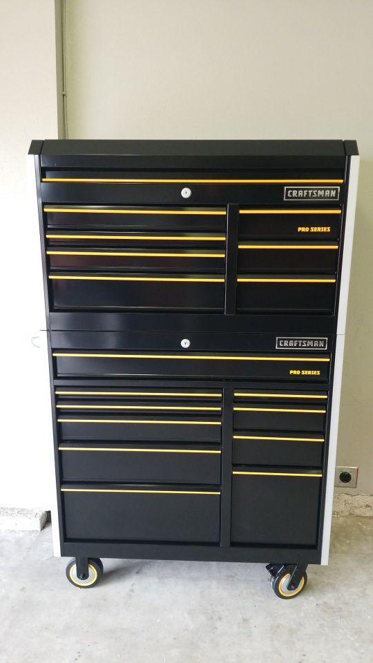 craftsman pro series 41 combo toolbox for sale in atwater, ca - offerup
