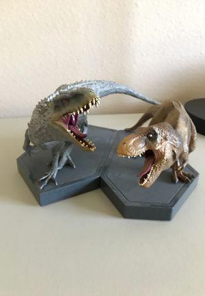 Jurassic World Vinyl Statue Set for Sale in Orlando, FL