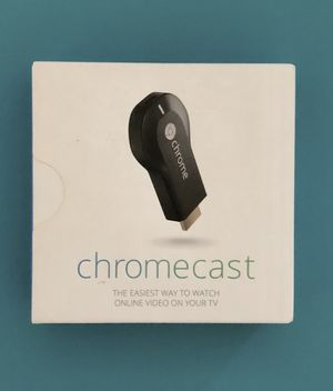 **Chromecast** Google for Sale in North Plainfield, NJ