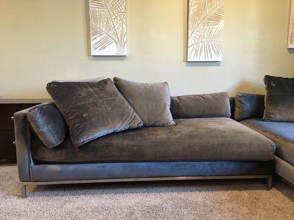 Z Gallerie Ventura Sectional Sofa For Sale In Scottsdale Az