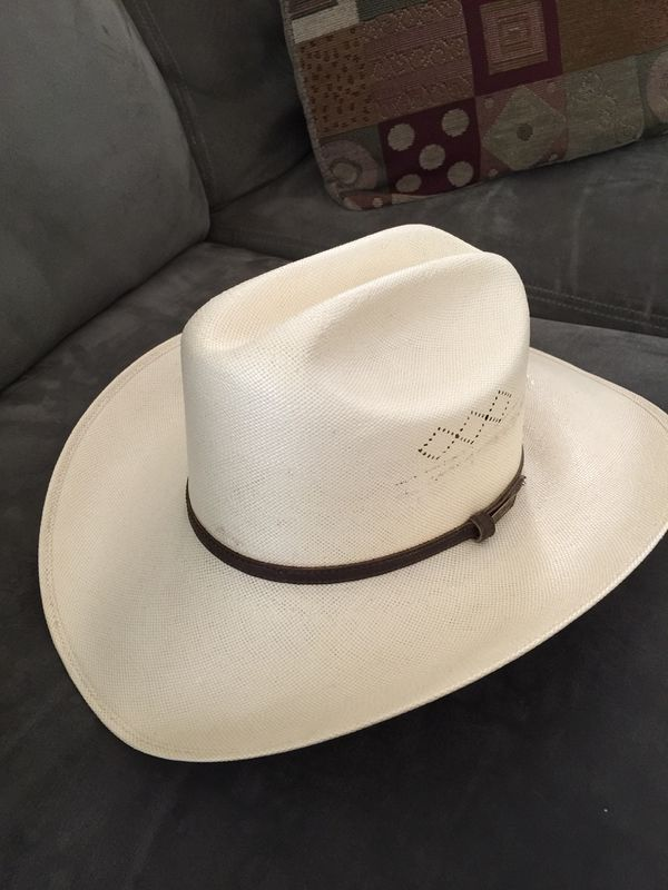 Larry Mahan Straw Ridgetop Cowboy Hat 7 1 8 for Sale in Gilbert 9fb05b1be39