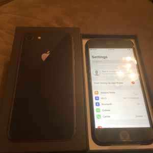 Naw IPhone 8 64g. T mobile for Sale in Falls Church, VA