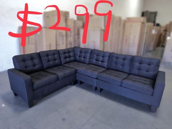 Used Item Sectional Sofa 299 Sold As Is Pick Up At City Of Industry 91789 Overall Dimension Approx 107 X 84 X 35 H For Sale In Walnut Ca