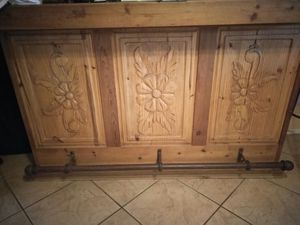 Bar very nice with 2 stools (rod iron) for Sale in Avondale, AZ