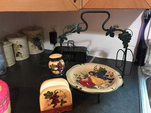 Grape decoration/ fruit or vegetable holder for Sale in Silver Spring, MD