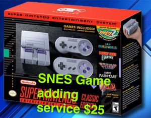 SNES Classic Modding service for Sale in San Francisco, CA