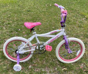 Photo 18 Inch Kids Bike Bicycle With Training Wheels