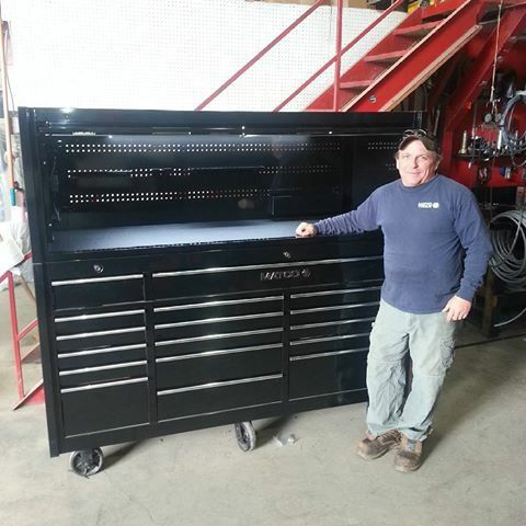 Matco 4s Triple Bay With Top Hutch Trade For Sale In San