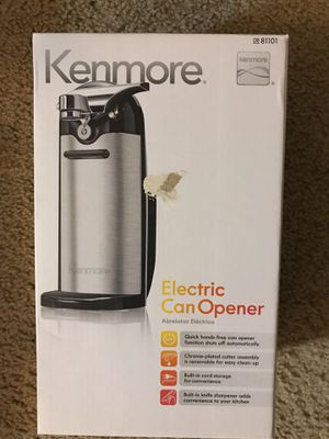 Kenmore electronic can opener for Sale in Houston, TX