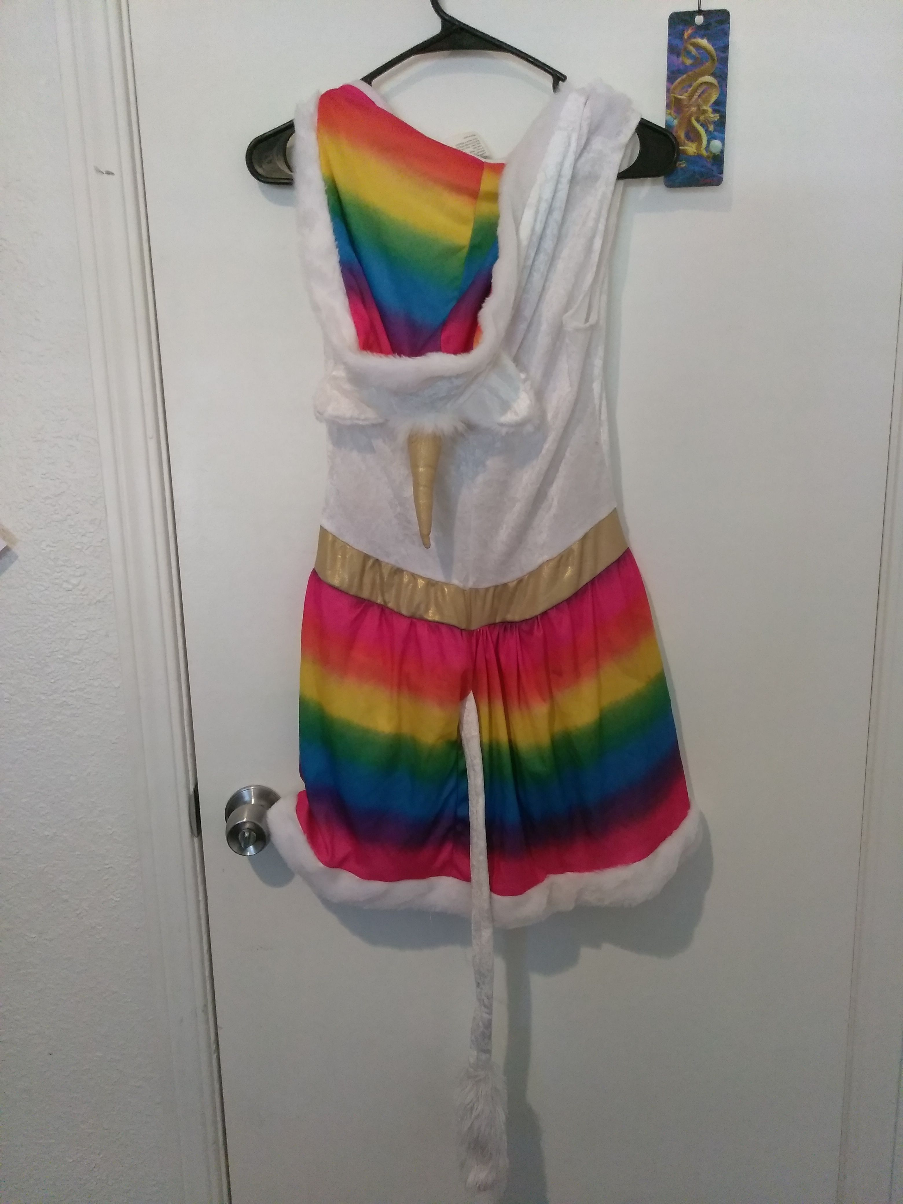 Rainbow Unicorn Dress/Halloween Costume