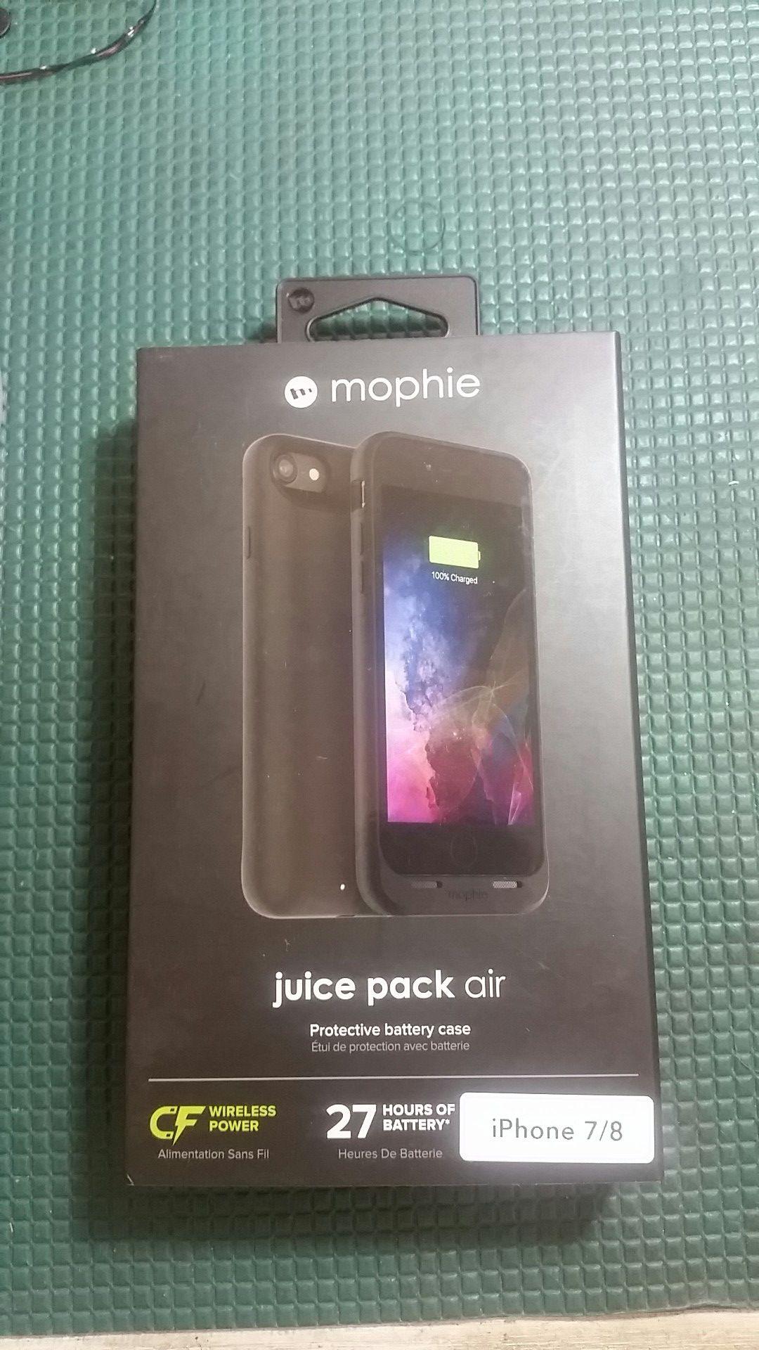 Mophie Juice Pack Air Black Iphone 8/7