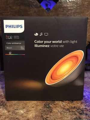 Philips HUE Bloom Color Ambiance Lamp for Sale in Miami, FL