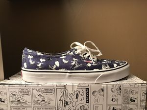 Peanut snoopy vans shoes for Sale in Falls Church, VA