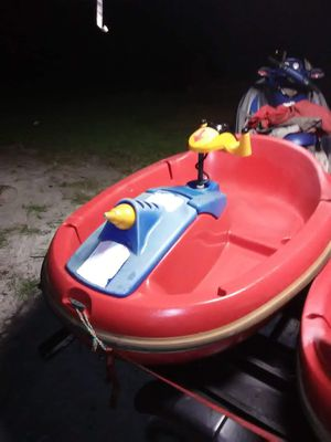2 Bumper boats, watercraft Value new $4,000 each for Sale in Clermont, FL