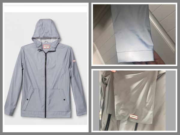3a3357421 Hunter for Target Packable Rain Coat- Silver for Sale in Olympia, WA ...