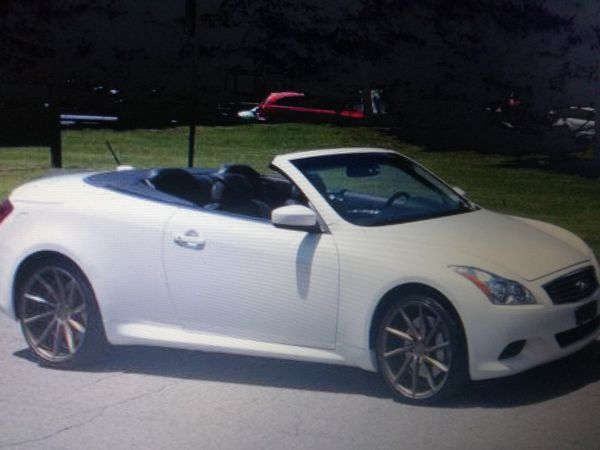 Full Price 2000 Infiniti G37 Convertible 2009 Clean Le No Problems Please Leave Me Your Email For Info And Photos Thanks Cars Trucks In