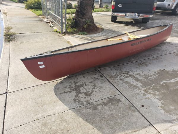 Rogue river 14 t k canoe for Sale in Moreno Valley, CA - OfferUp
