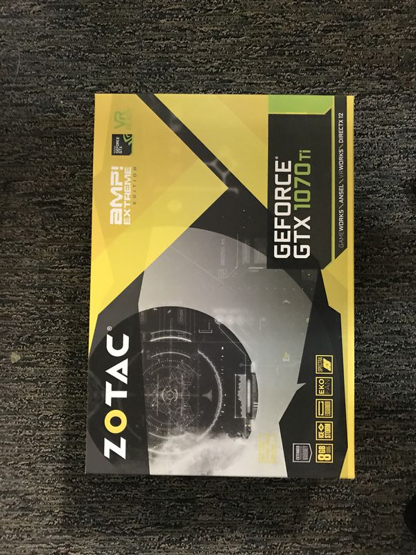 Nvidia GTX 1070 Ti Graphics card - Brand New for Sale in Mountain View, CA  - OfferUp