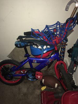 SpiderMan Bike With Helmet for Sale in Washington, DC