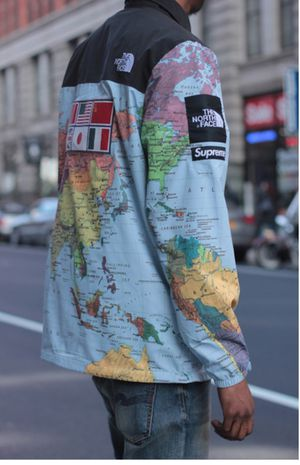 Supreme x north face world map jacket for sale in new york ny supreme x north face world map jacket for sale in new gumiabroncs Gallery
