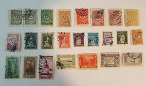 Very rare Ottoman and early Turkish postal stamps for Sale in Fairfax, VA