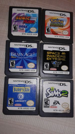 Nintendo ds games 6 for Sale in Oxon Hill, MD
