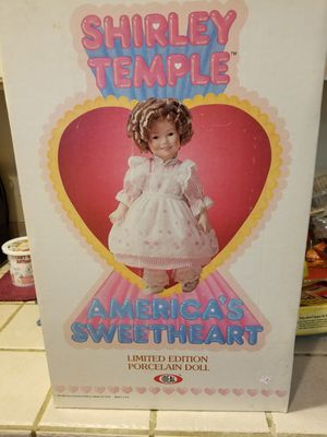 Shirley temple doll certificate 1983 for Sale in Portland, OR