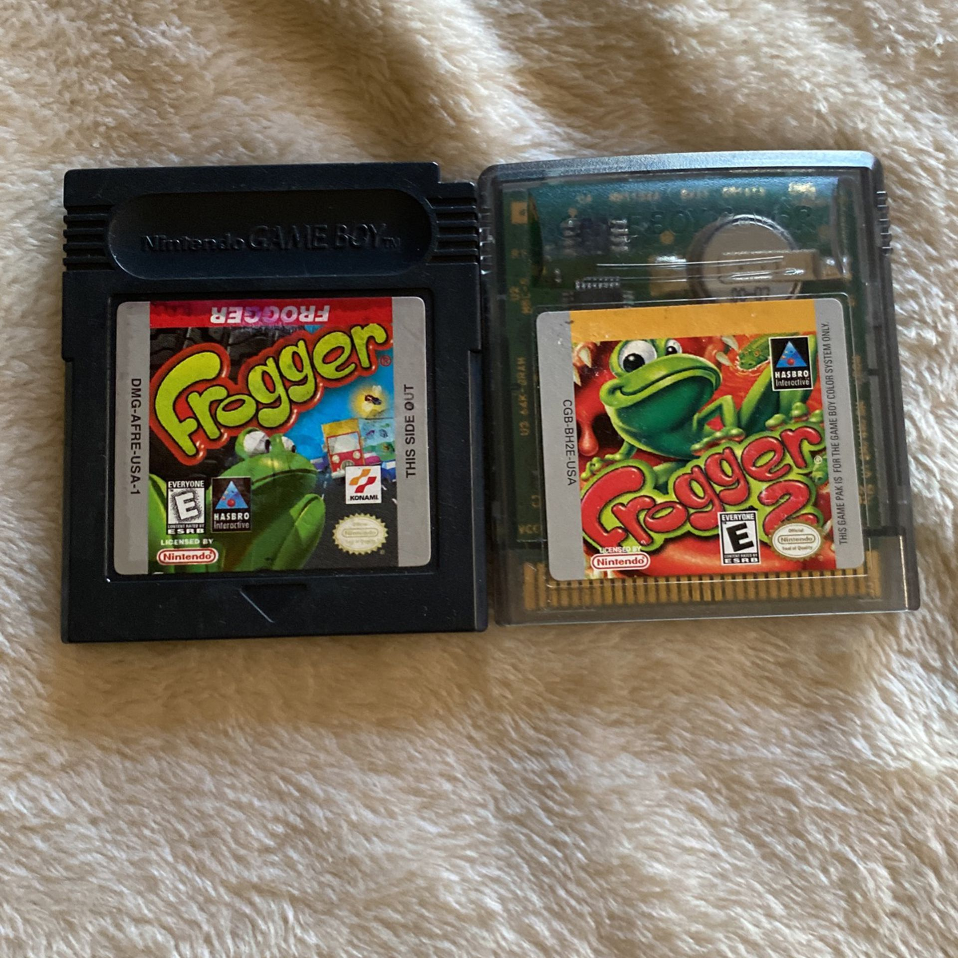 Frogger 1&2