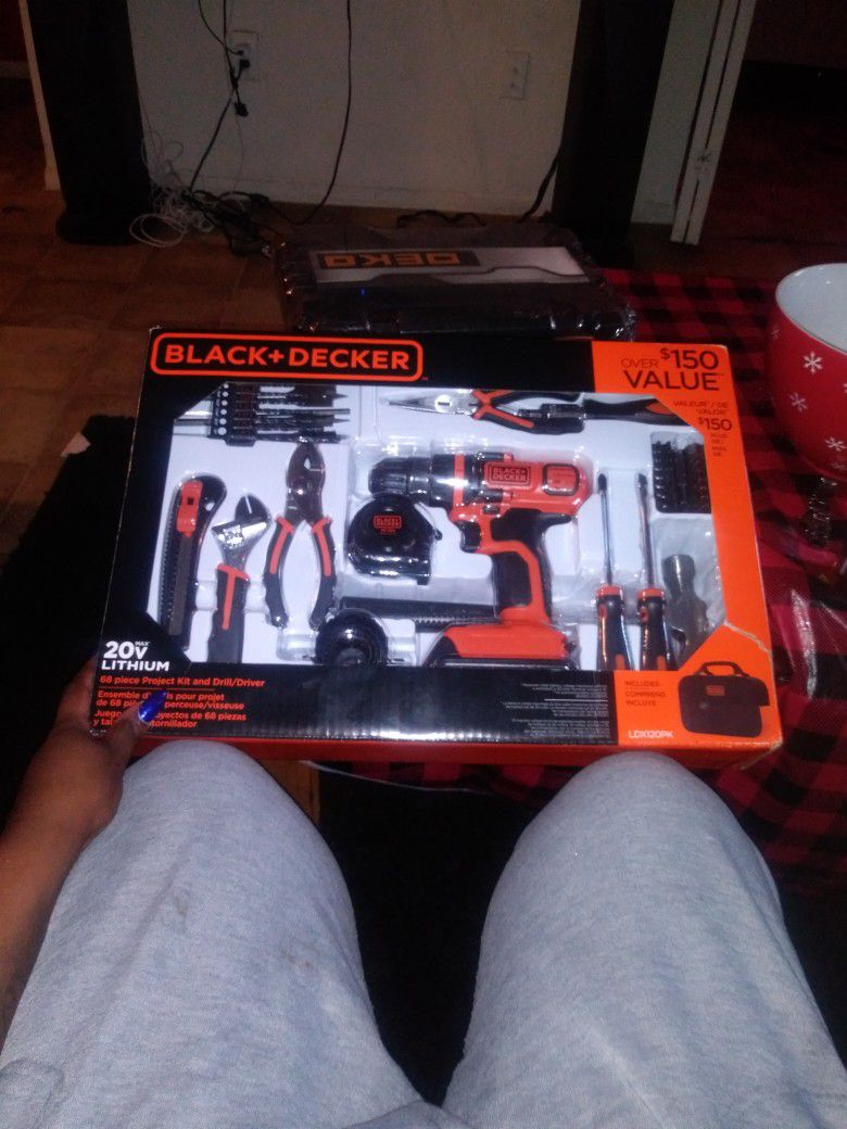 Tools And Drills Brand New $150 For Both Sets