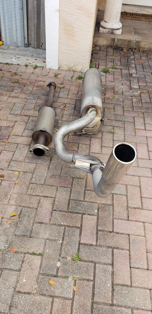 Factory 2018 Ford F-150 XLT 2.7 Ecoboost Catback Exhaust