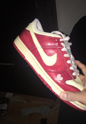 Bike hyper dunks lows (Valentines Edition) for Sale in Annandale, VA