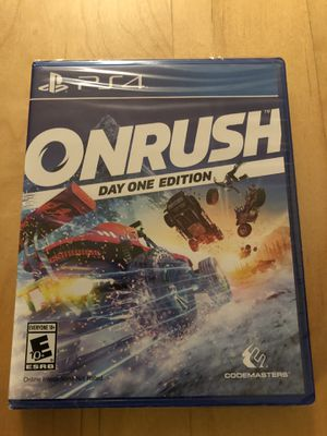 Onrush Day One Edition PS4 for Sale in Chicago, IL