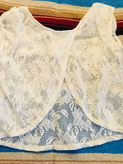 Shear Summer Top with Open Back Thumbnail