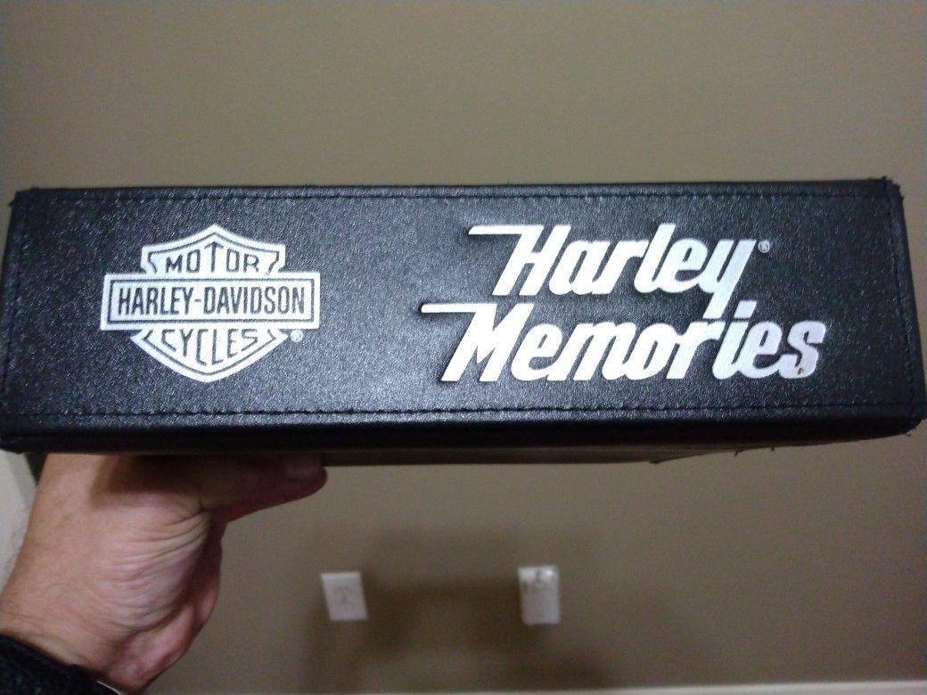 Harley Davidson Photo Album Never Used