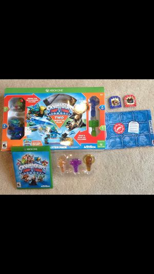 X-Box One Skylander lot $28 Trap Team starter pack includes game plus 3 additional traps. for Sale in Herndon, VA