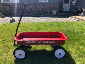 Photo Real Metal Radio Flyer wagon