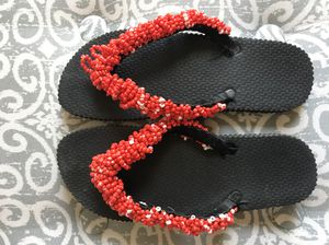 92e392afeb44 Spring and Summer beaded slippers for Sale in College Park
