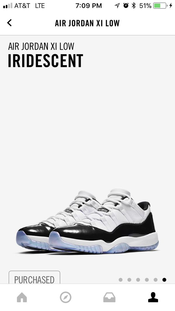 a6c8202f1248 Jordan XI low Iridescent sz 13 for Sale in Tigard