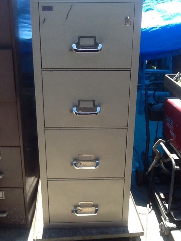 Korden Fireproof Safe File Cabinet For Sale In Long Beach