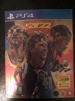 NBA 2k22 PlayStation 4 LEGEND EDITION Thumbnail