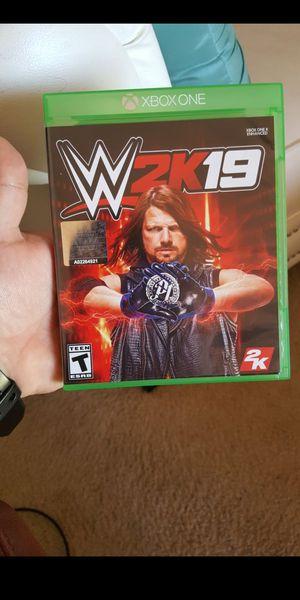 WWE 2K19 for Sale in Ashburn, VA